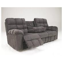 Reclining Sofa with Drop Down Tray