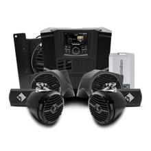 View Product - 400 watt stereo, front lower speaker, rear speaker, and subwoofer kit for select Polaris RANGER® models