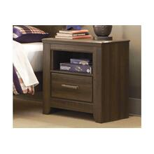 Juararo One Drawer Night Stand Dark Brown