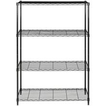 See Details - Delta 4 Tier Chrome Wire Rack - Black Powder Coated