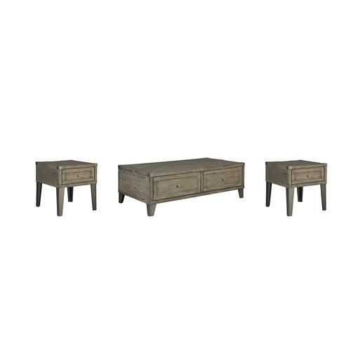 Gallery - Coffee Table With 2 End Tables