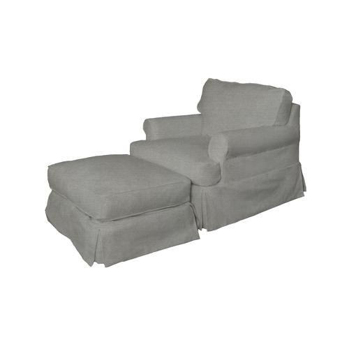 Horizon Slipcovered Chair - Color: 391094
