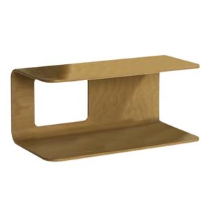 Aeri dual shelf wall mount wood structure. Product Image