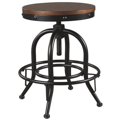 See Details - Valebeck Counter Height Bar Stool