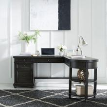 L Writing Desk Base