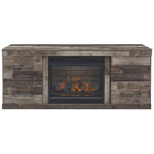 "Derekson 63"" TV Stand With Electric Fireplace"