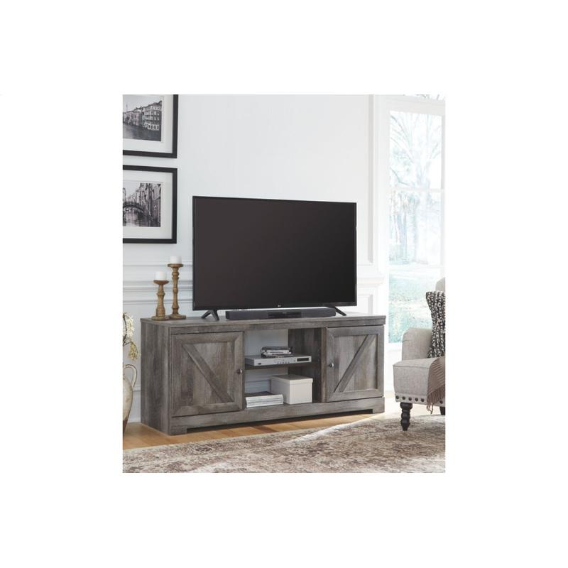 """View Product - Wynnlow Gray 63.5"""" TV Stand"""