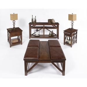 Progressive Furniture - Chairside Table - Sunset Birch Finish