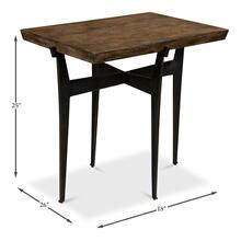 Vineyard Cross Side Table