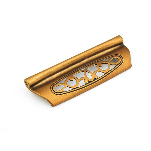 Firenza, Cup Pull, 96 mm cc, Light Firenza Bronze finish