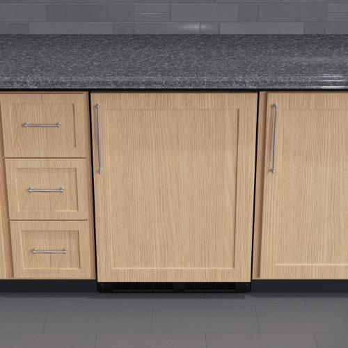 Marvel - 24-In Professional Built-In Freezer With Reversible Door with Door Style - Panel Ready