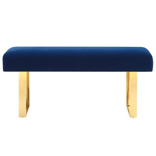 Tov Furniture - Alexis Velvet Bench