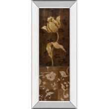 """Golden Tulip I"" By Tava Studios Mirror Framed Print Wall Art"