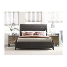 Eastburn Sleigh Cal King Bed - Complete