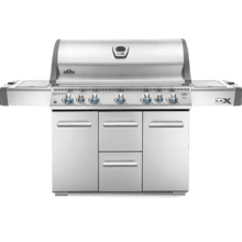 LEX 730 RSBI Side Burner, Infrared Bottom & Rear Burners , Stainless Steel , Natural Gas