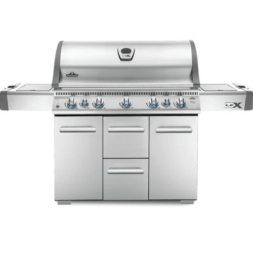 LEX 730 RSBI Side Burner, Infrared Bottom & Rear Burners , Stainless Steel , Natural Gas