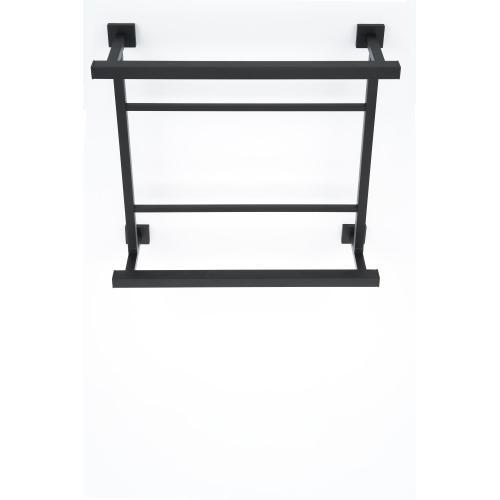 Contemporary I Hospitality Towel Rack A8428-18 - Matte Black