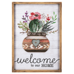 Plaque - Welcome to Our Home