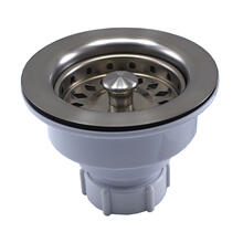 Brushed Stainless Basket Strainer