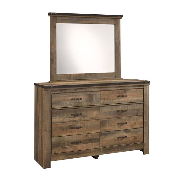 See Details - Trinell Dresser and Mirror