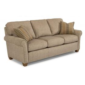Christine Fabric Sofa with Nailhead Trim