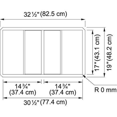 Franke - Crystal CLV120-33 Stainless Steel