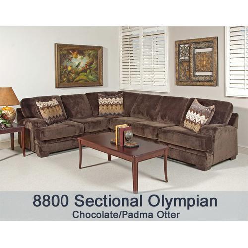 Olympian Chocola/Padma Otter 8800RFS - 8800 R/F Sectional