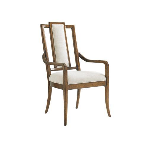 St. Barts Splat Back Arm Chair