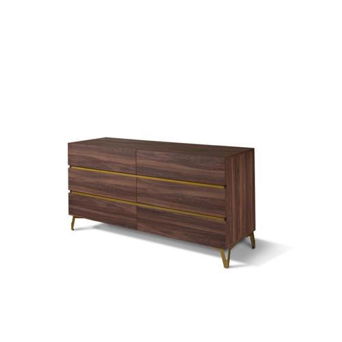 Nova Domus Calabria Modern Walnut Dresser