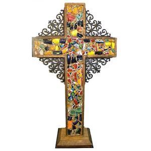 Tiled Standup Cross