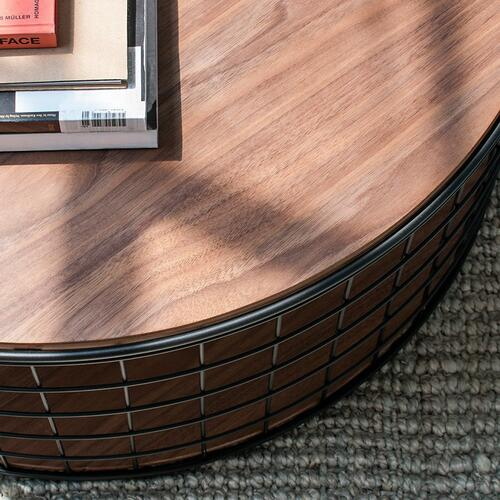 Wireframe Coffee Table Natural Oak
