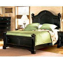 See Details - Black Queen Bed