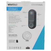 Wireless Video Doorbell with Indoor Chime