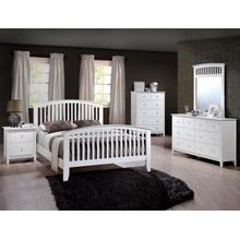Lawson Bed White