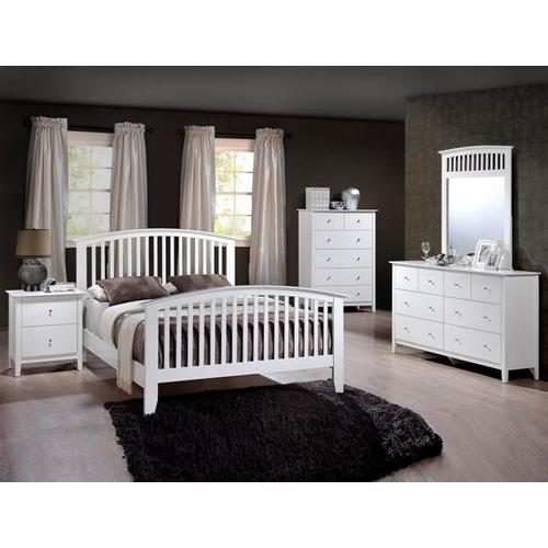 Gallery - Lawson Bed White