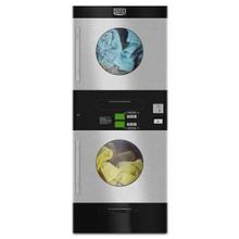 Product Image - Maytag® Commercial Energy Advantage™ Multi-Load Stack Dryer - Stainless Steel