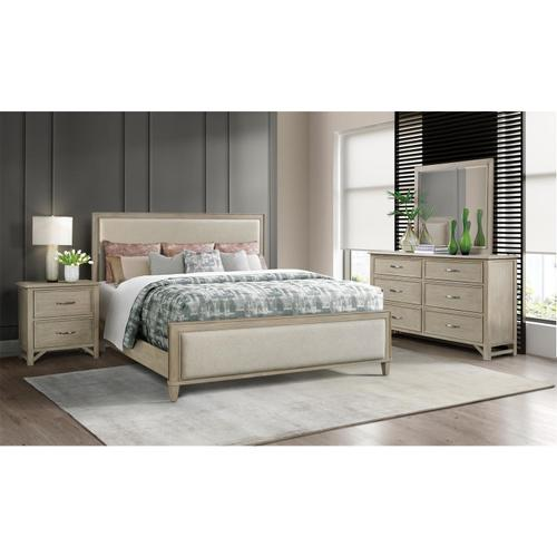 Riverside - Talford Natural - Queen/king Bed Rails - Natural Finish