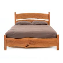 Denver Free Form Cherry Bed - King Headboard Only