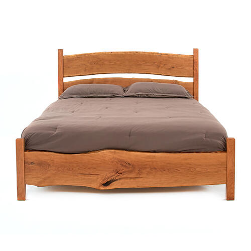 Denver Free Form Cherry Bed - King Bed