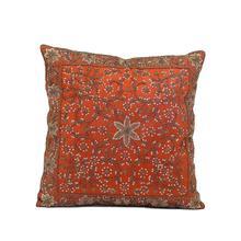 Paprika Silk Pillow