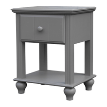 Abacoa Grey Nightstand