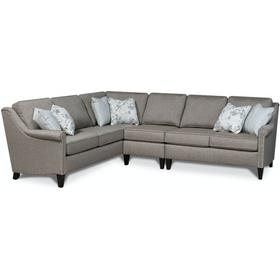 9T00N-Sect Ella Sectional with Nails