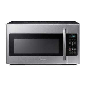 Samsung1.8 cu. ft. Over-the-Range Microwave with Sensor Cooking in Fingerprint Resistant Stainless Steel