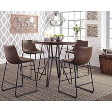 Centiar Counter Height Dining Room Table with 4 Stools