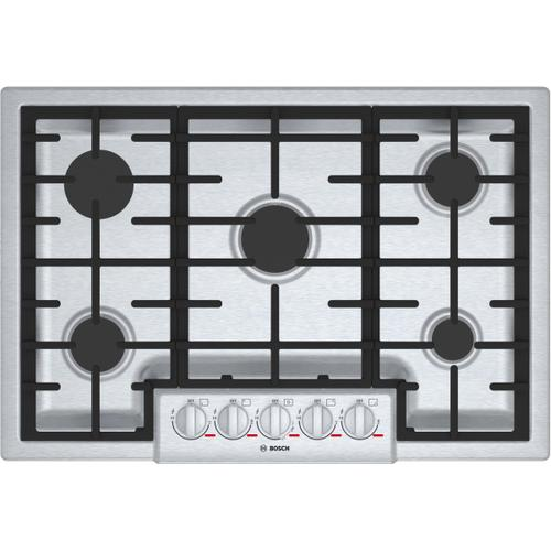Bosch Canada - Benchmark® Gas Cooktop 30'' Stainless steel NGMP056UC