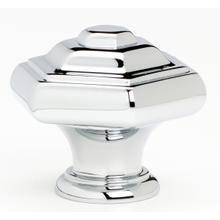 Product Image - Geometric Knob A1530 - Unlacquered Brass