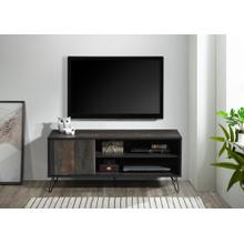 """See Details - 2030 RUSTIC GRAY Faux Wood TV Stand - 47"""" L"""
