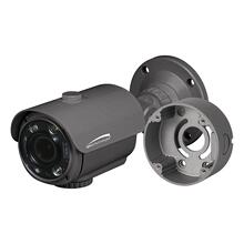 4MP Flexible Intensifier® Technology H.265 Bullet IP Camera with Junction Box 2.8-12mm motorized lens, Dark Gray Housing