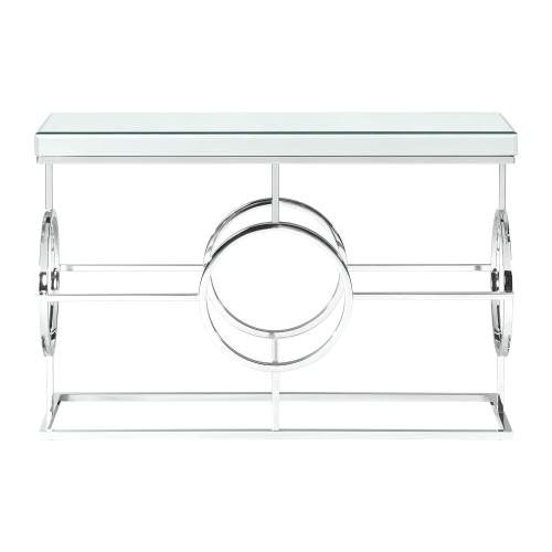 Pearl Rectangle Mirrored Sofa Table