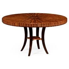 Art Deco round dining table (High lustre)